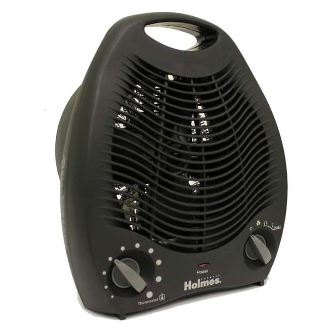 HFH108B-UM Holmes Compact Space Heater with Adjustable Thermostat HFH108B