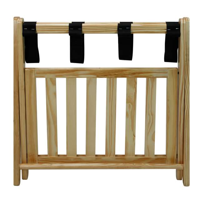 102-20 Casual Home Luggage Rack, Natural 2