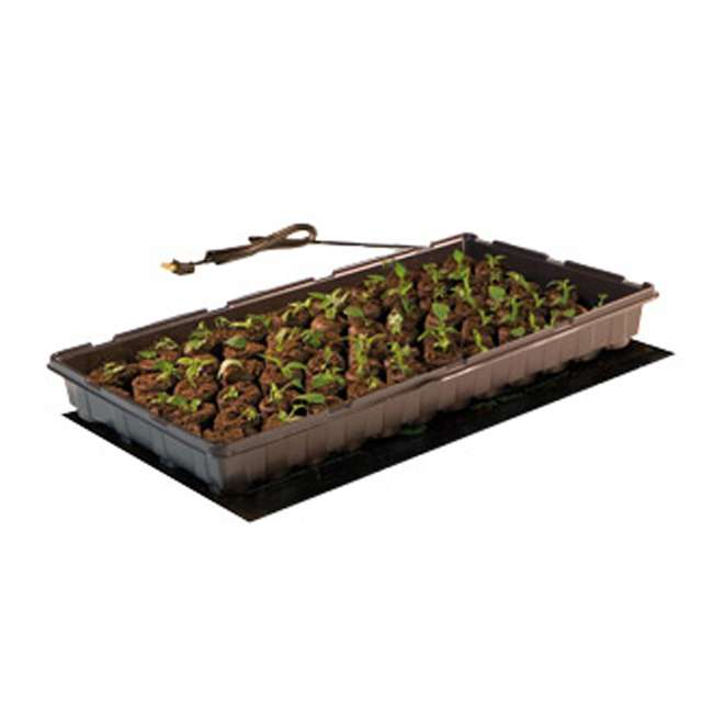 "10 x 19006 Hydroponic 17W Jump Start 8.87"" x 19.5"" Seedling Heat Mat (10 Pack) 5"