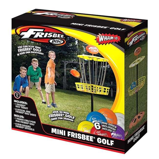 3 x 51091 Wham-O Mini Frisbee Golf Set (3 Pack) 2