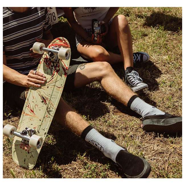 FH1906 Aluminati Pre-Gripped Lightweight Flamingo Jerry Cruiser Skateboard with Wheels 3