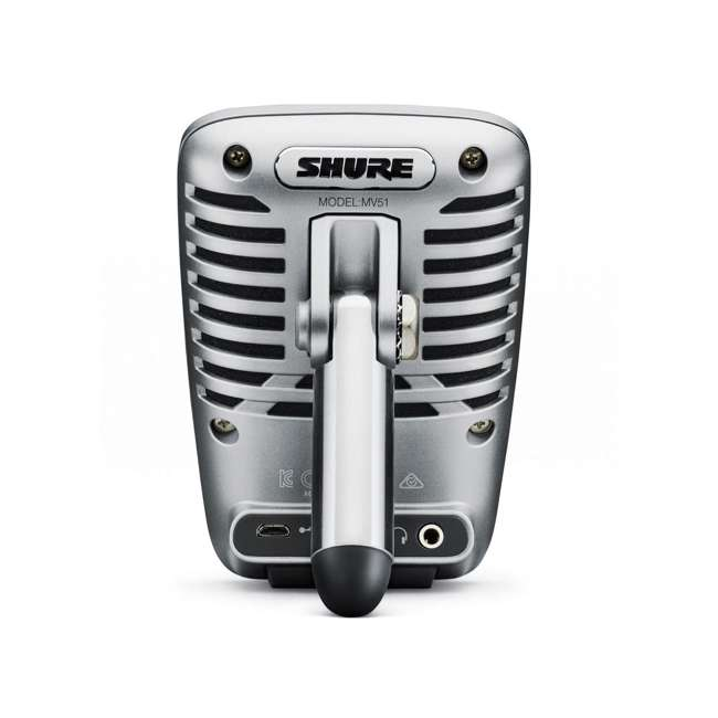 4 x SHURE-MV51-A Shure MV51 Large-Diaphragm Condenser Microphone w/ Stand (4 Pack) 3