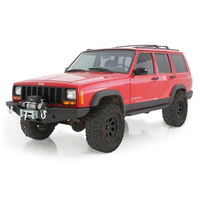 76810-SMITTYBILT Smittybilt XRC Rock Crawler Winch Front Bumper with D-ring Mounts