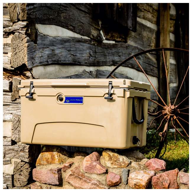BFDB75-SD Big Frig Denali 75 Quart Insulated Cooler with Cutting Board and Basket, Sand 5