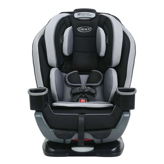 1964704 Graco Extend2Fit Convertible 3 in 1 Rear & Front Facing Car Seat/Booster, Garner