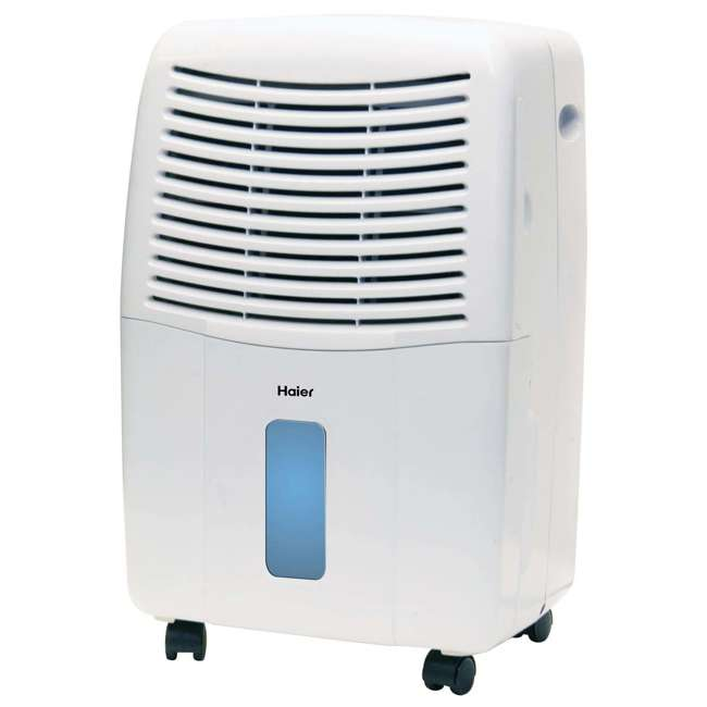 DE65EM-U-C Haier 2 Speed Portable Electronic Air Indoor Dehumidifier with Drain (For Parts) 1