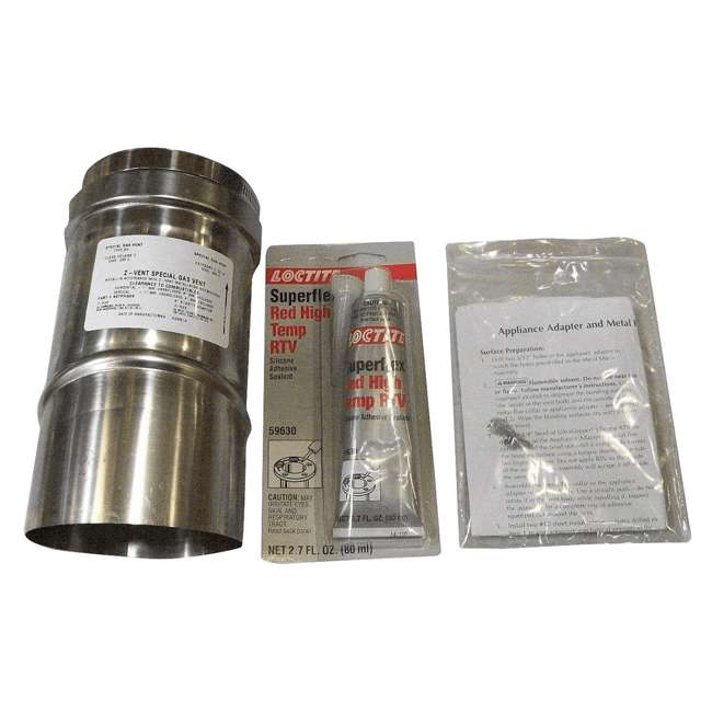 77707-0087 Pentair 77707-0087 Adapter for Horizontal or Vertical Positive Pressure Venting