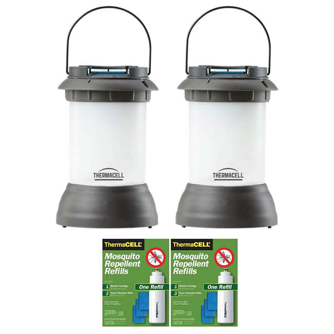 PS-LL2 Thermacell Mosquito Repeller Lantern & Refill Pack (2 Pack) & Refill (2 Pack) 1