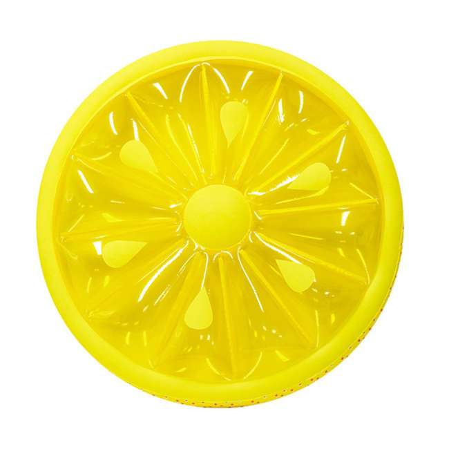9054O + 9054Y Swimline 60-Inch Inflatable Orange & Lemon Slice Float 4