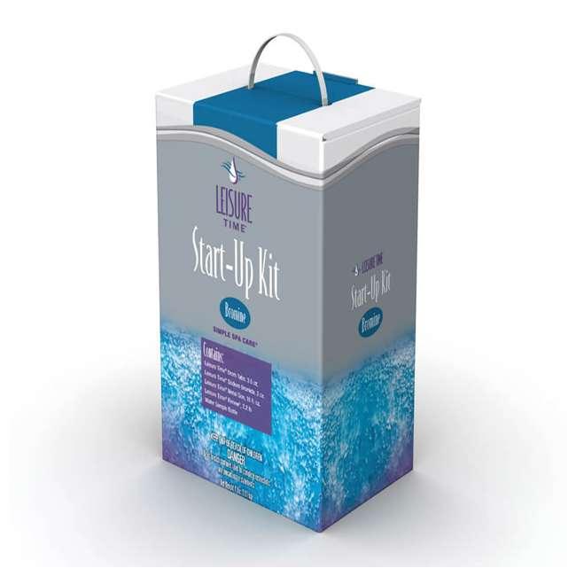 13804-BW + 3 x 90352E-BW + 45521A Bestway SaluSpa Hot Tub + Bromine Kit + Filter Cartridge (3 Pack) 2