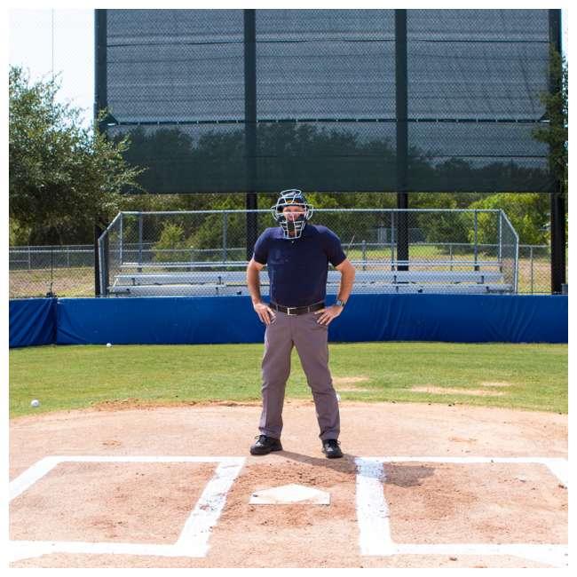 P210 Champion Sports 15 Inch Baseball Outside Shield Umpire Chest Protector, Black 6