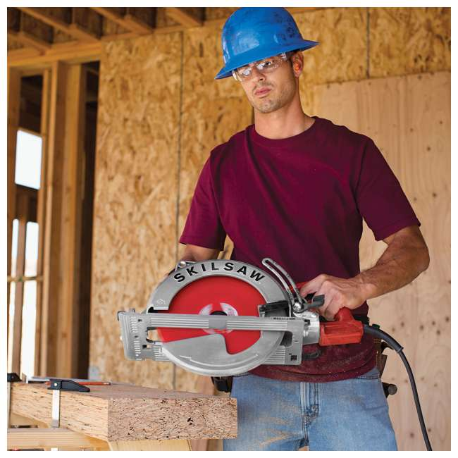 SPT70WM-72-OB Skilsaw Diablo 10-1/4-Inch Sawsquatch Drive Saw w/ Blade & Twist Lock(Open Box) 5