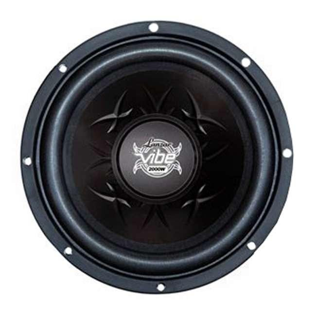VW154 LANZAR VW154 2000 Watt 15-Inch 4-Ohm Car Audio Subwoofer