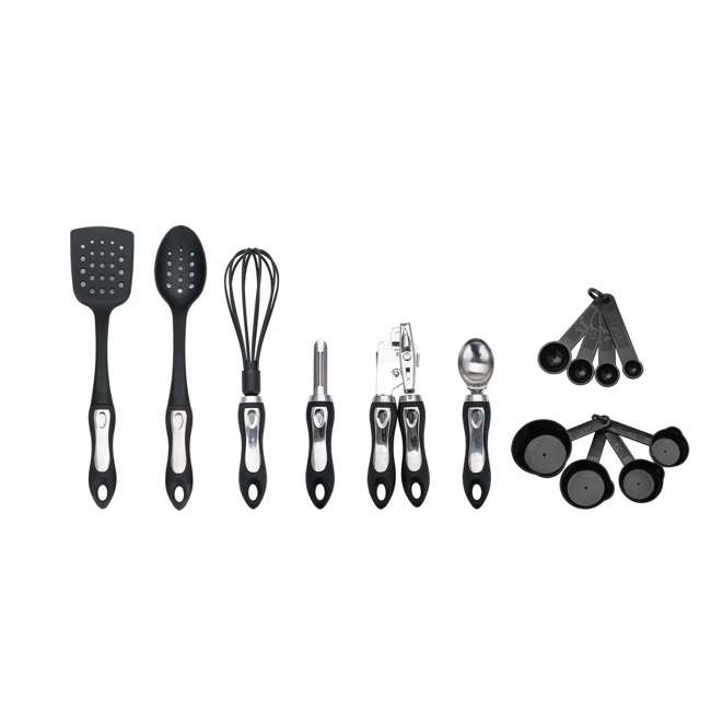 HGA602 Hamilton Beach 14-Piece Tool and Gadget Set, Black