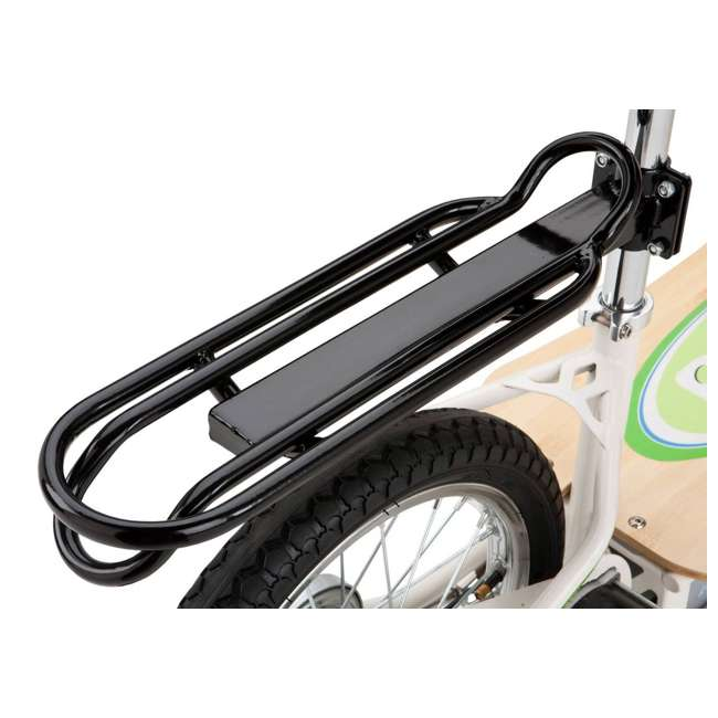 3 x 13114501 Razor EcoSmart Metro Electric Adult Scooter with Seat & Rack, Green (3 Pack) 5