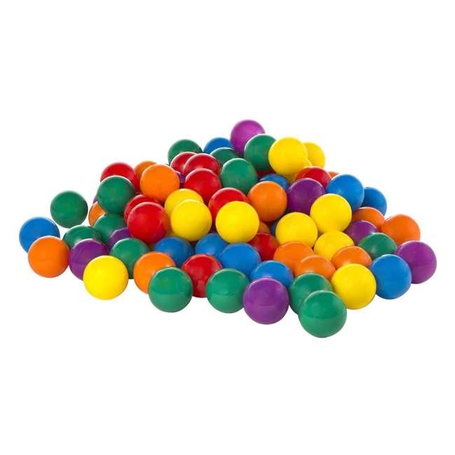49602EP 100-Pack Intex Small Plastic Multi-Colored Fun Ballz