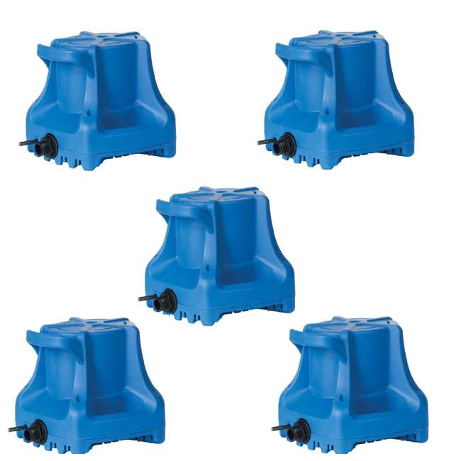 5 x LG-577301 Little Giant Automatic 1700 GPH Swimming Pool Winter Cover Water Pump (5 Pack)
