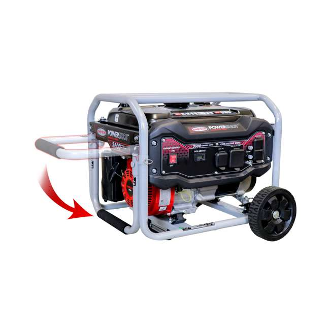 SMPSN-GN-SPG3645-70005-OB Simpson SPG3645 3,600-Watt Portable Heavy-Duty Generator (Open Box) 3