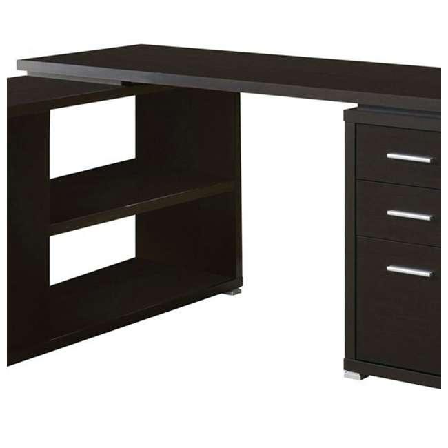 VM-7019-U-A Monarch Specialties Inc. Left or Right Facing Corner Computer Desk (Open Box) 1