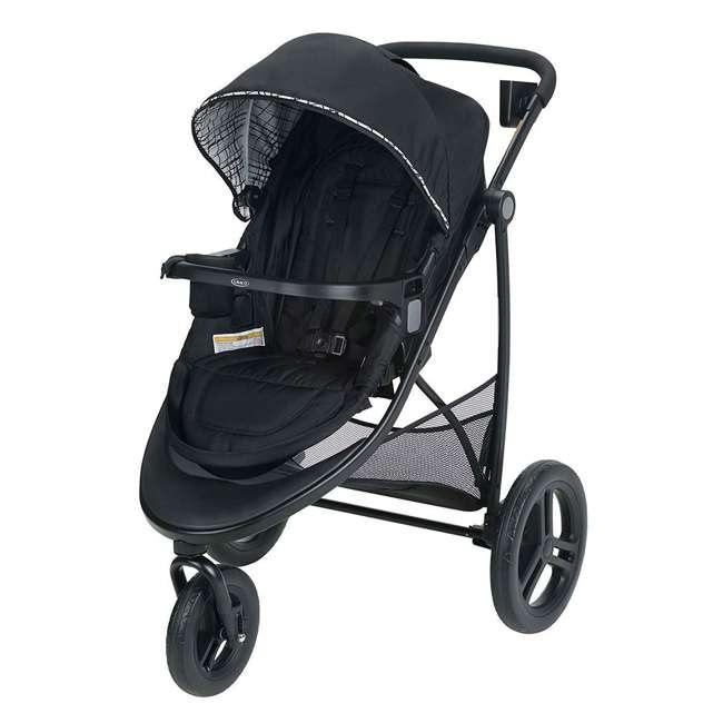 2048703 Graco Modes 3 Essentials LX Folding Baby Stroller, Teigen 4