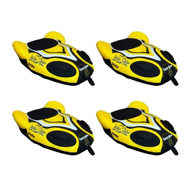 4 x U336YEL-00-000 (4) Sevylor 1-Person Towable Steerable Wake Sliders - Yellow