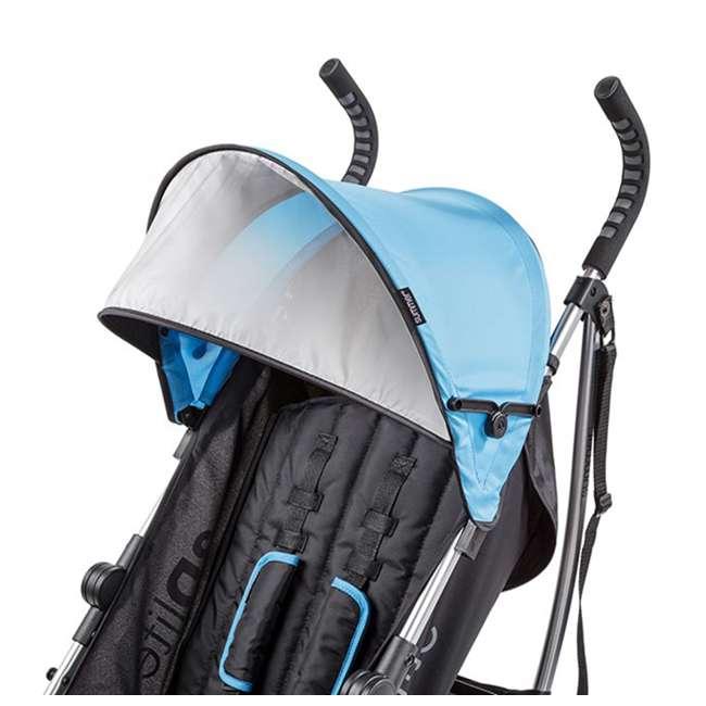 21840A Summer Infant 3Dlite 42 Inch Convenience Stroller, Caribbean Blue 7