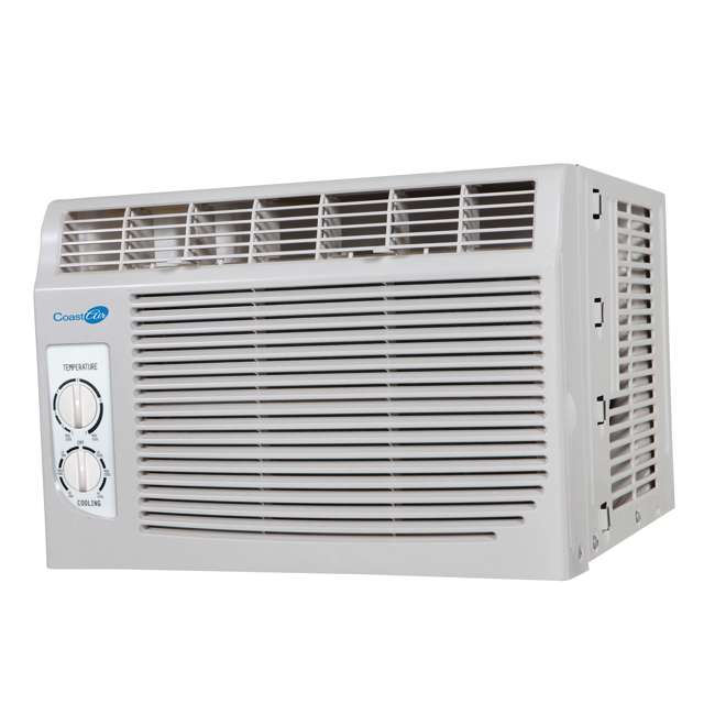 CMW051B Coast Air CMW051B 5000 BTUs Compact Window Mount Air Conditioner Unit, White 4