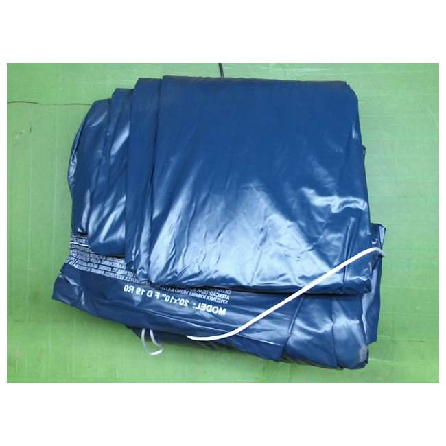 11289-Pool-Cover Intex Pool Cover for 20ft Round Metal Frame Pools (New Without Box)