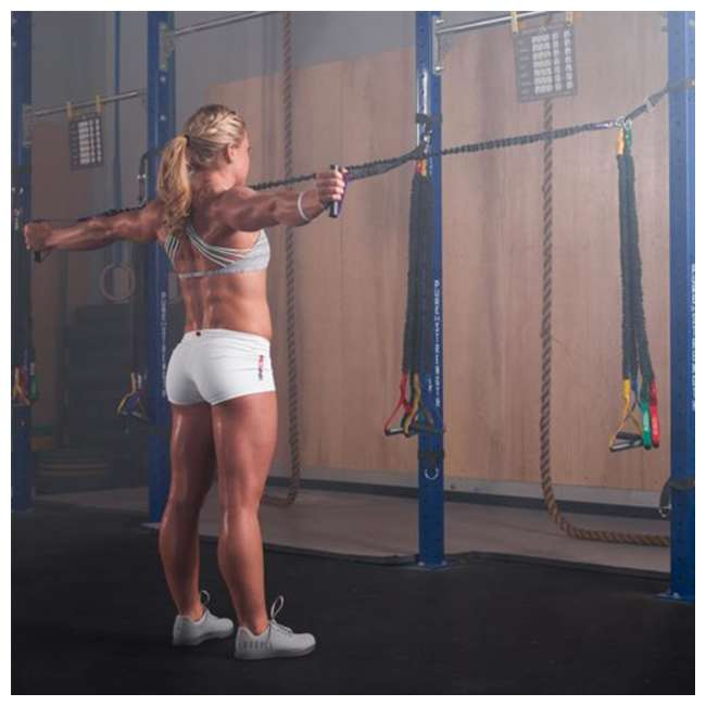 INSRS2 Crossover Symmetry Individual Exercise Package with Squat Rack Straps, Novice 5