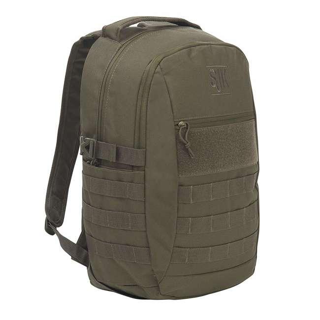 53767819LG Slumberjack Chaos 20 Liter Tactical Military Hiking Day Pack Backpack, Green