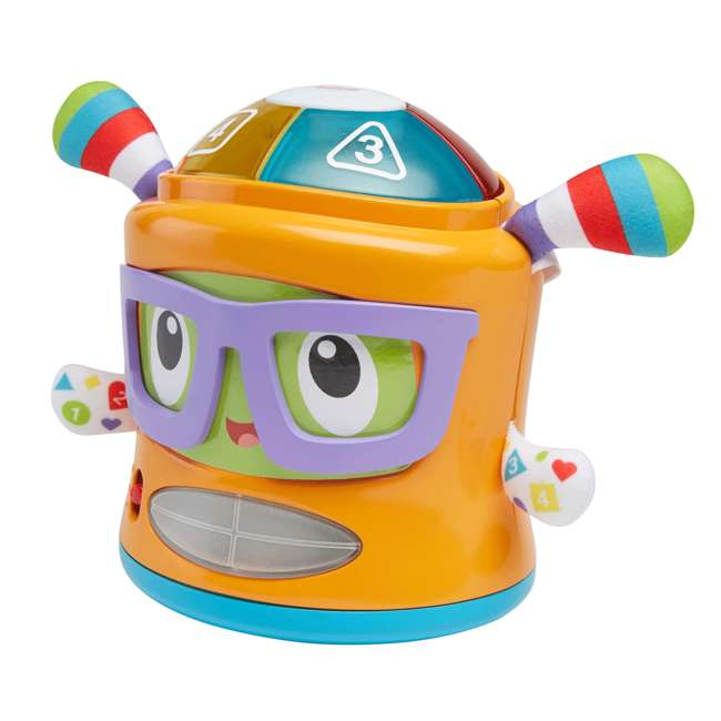 DYM08 Fisher Price DYM08 Franky Beats Bat & Boogie Baby Learning Activity Play Toy 1