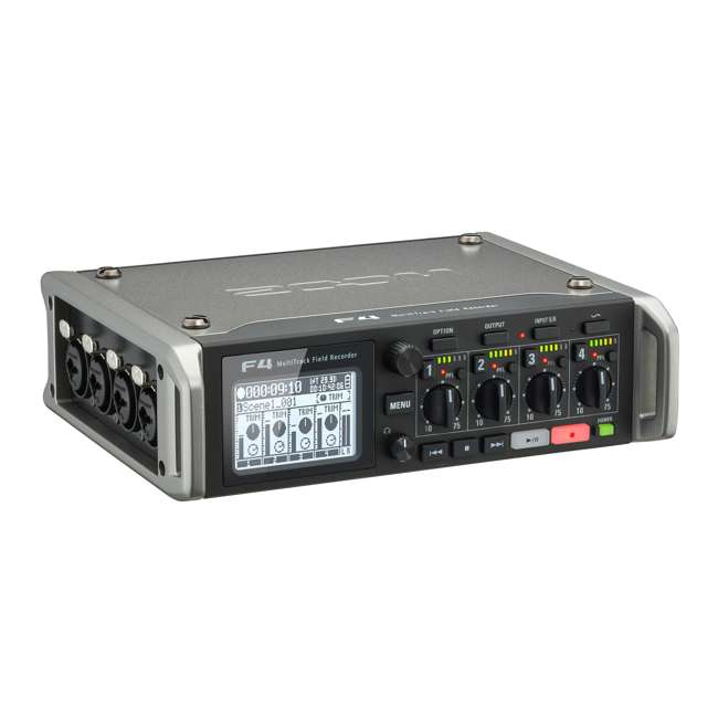 ZF4-OB Zoom F4 Professional MultiTrack Field Recorder 5
