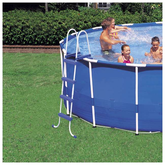"""28241EH + 6 x 29000E + NC-05131 Intex 15' x 48"""" Pool Set with 6 Filter Cartridges + Natural Chemistry PHOSfree 8"""