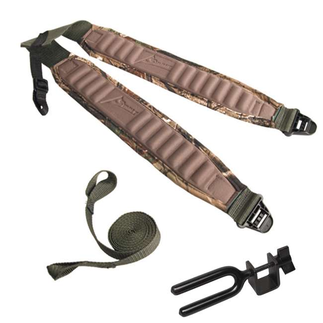 Summit deluxe backpack straps w realtree ap camo for Ap fishing backpack