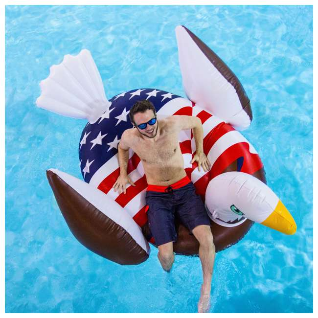 90700 Giant Patriot Eagle Swimming Pool Float 2