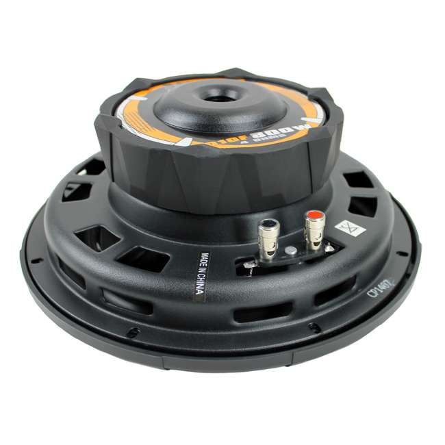 D10F Boss 10-Inch 800 Watt Shallow Subwoofer 4