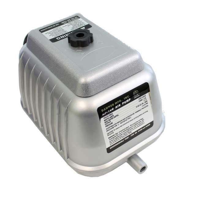 DANN-04580-U-B Pondmaster AP 100 Pond Air Pump for 10,000 Gallon Garden Aquarium (Used) 2