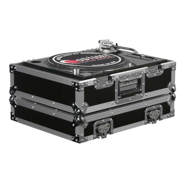 FR1200E-U-A Odyssey FR1200E Flight Ready DJ Equipment Turntable Transport Case (Open Box)