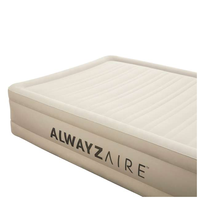 14534-BW-U-B Bestway 17 Inch Spring Air AlwayzAire Fortech Airbed with Built In Pump, Queen (Used) 3
