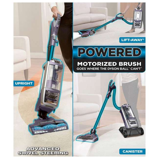 Shark Rotator Powered Lift Away Upright Vacuum Cleaner W