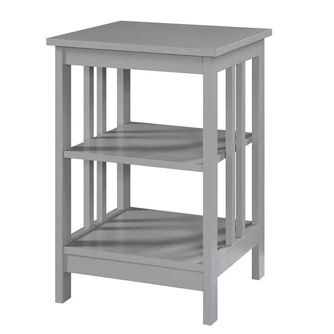 S20-250 OMA - Convenience Concepts 203385GY End Table, Gray