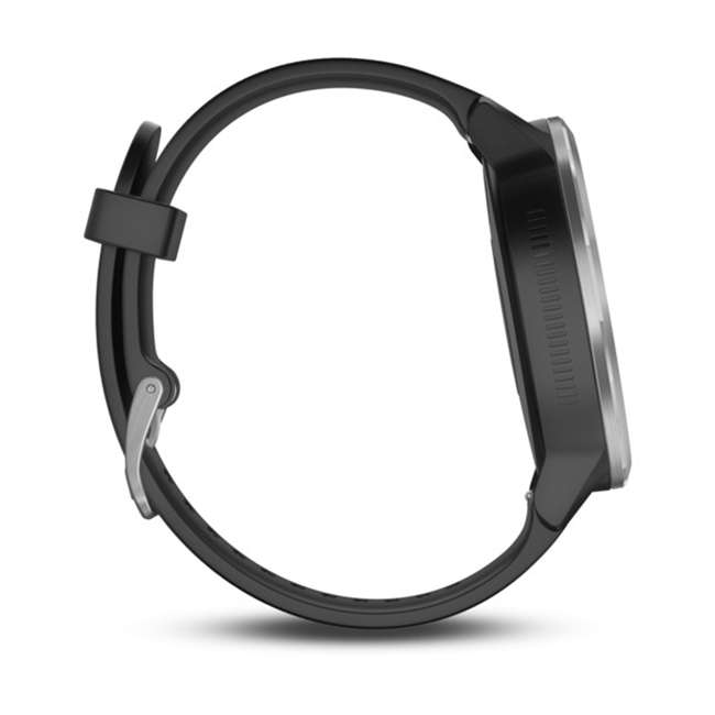 010-01769-01 Garmin Vívoactive 3 Active Smartwatch, Black with Silver