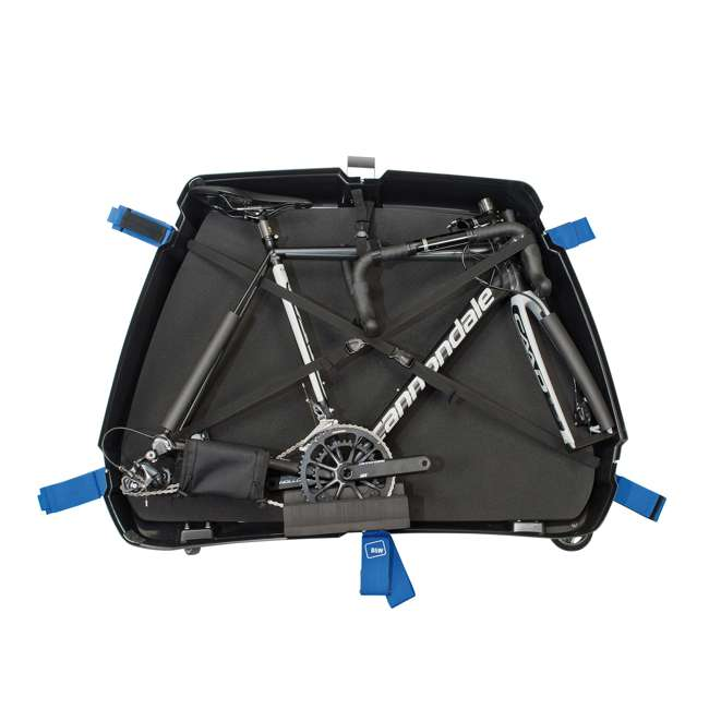 96500 B&W International Storage Pull Carry Packing Durable Bike Box II with Buckle 3