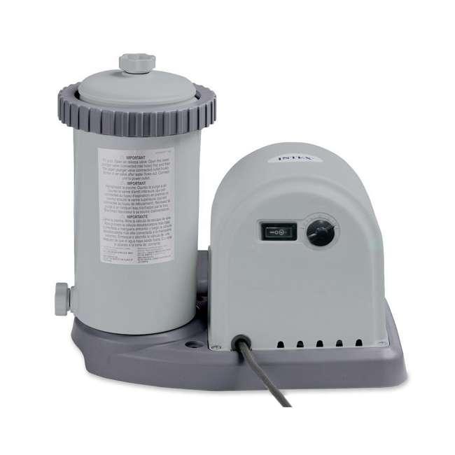 635T Intex 1500 Gph Krystal Clear Cartridge Filter Pump 110-120V w/ GFCI (Pump Only)