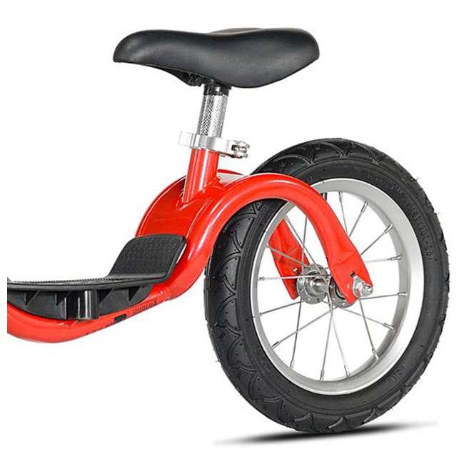 KZM15SRD-U-A Kazam Easy Balance Step Through Frame Neo Balance Bike (v2s), Red (Open Box) 2
