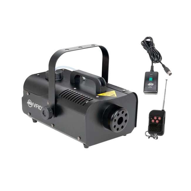 VF1000 + FJU American DJ 1000W Fog Machine with Remotes + Chauvet Fog Juice Fluid (1 Gallon) 1