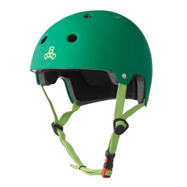 6 x T8-3027 Triple 8 Dual-Certified Skate and Bike Helmet with EPS Liner, Small/Medium (6 Pack) 1