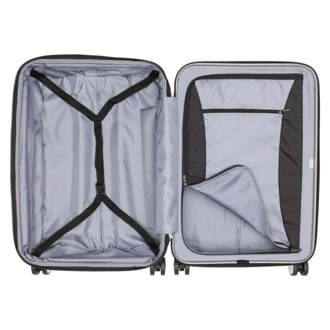 "00207182011 DELSEY Paris Titanium 25"" Expandable Checked Spinner Rolling Luggage Suitcase 2"