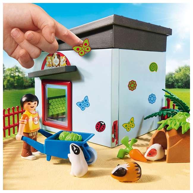PLAY-9277 Playmobil Small Animal Boarding Building Kids Educational Toy Set & Figurines 4