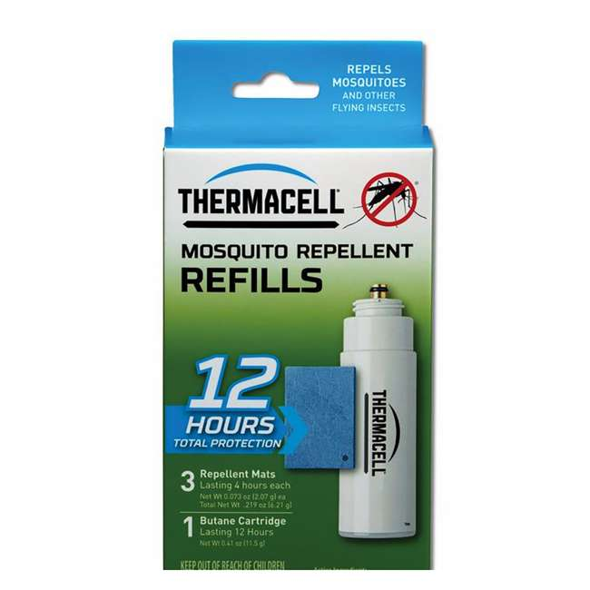 MRPSR Thermacell Outdoor Insect Repeller & 12-Hour Mosquito Repellent Refill (2 Pack) 7